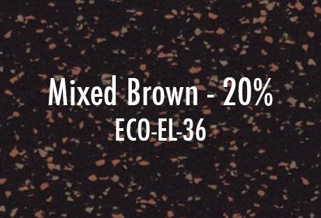ECO EL 36 Mixed Brown 20