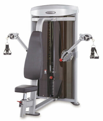 3D Chest/Arms Dual Station Machine by Steelflex