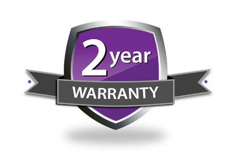 2 Year Warranty Logo