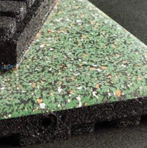 Ecore ECO-EL-SPA - 2' Square Eco Spa Floor Tiles