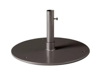 "Tropitone 20"" Round Steel Plate Umbrella Base - TRO-SP20R15"