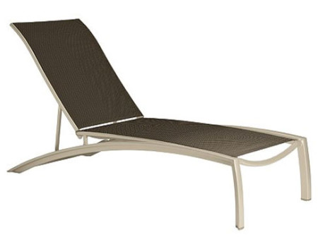 Tropitone South Beach Four Position Stacking Armless Chaise (Package of 3)