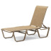 Telescope Casual Four Position Stacking Armless Chaise - TEL-5A2