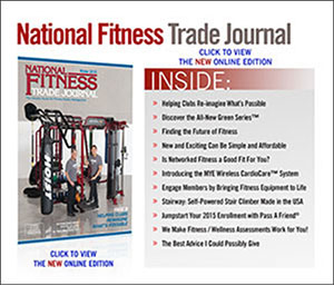 Green Series Featured in National Fitness Trade Journal