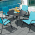 Orange Italia Splash Series Stacking Arm Chair (Package of 4) - TEL-767