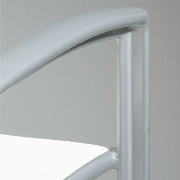 Tropitone Elance Stacking Cafe' Chair (Package of 2) - TRO-240524 frame