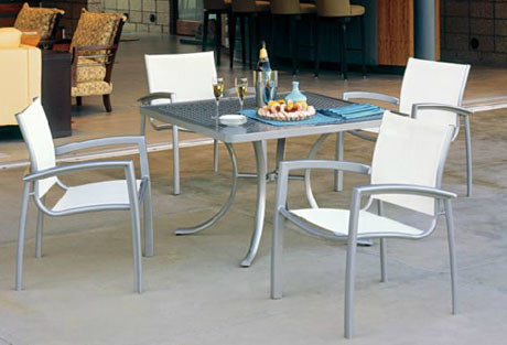 Tropitone Elance Stacking Cafe' Chair casual dining