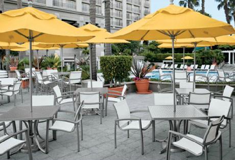 Tropitone Elance Stacking Cafe' Chair resort