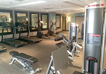 Image of exercise room at Holiday Inn, Memphis, TN