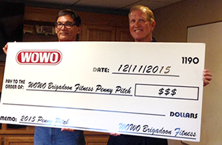 Bruce Dye, CEO of Brigadoon Fitness To Support WOWO Penny Pitch by Matching all Money Raised