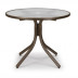 "Telescope Casual 36"" Round Glass Dining Table - TEL-596"