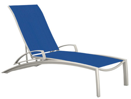 Tropitone Four Position Stacking Chaise with arms - TRO-241433