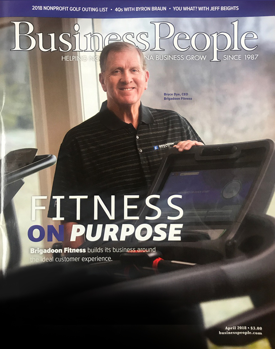 Brigadoon Fitness Featured in Business People Magazine