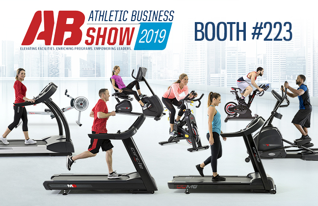 Check Out Our Exclusive Cardio Equipment at the 2019 Athletic Business Show