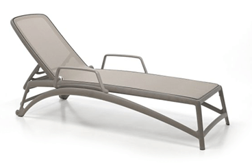 Nardi Atlantico - Stackable Sling Chaise Lounge NAR-40450.10.104