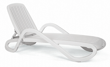 Nardi Eden - Chaise/Sunlounger with Arms