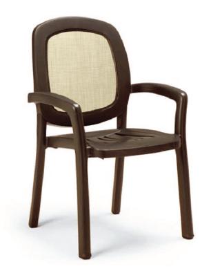 Nardi Beta Stacking Armchair NAR-40270 brown/tan