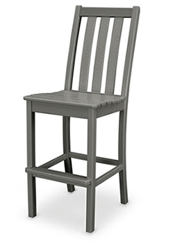 Polywood Vineyard Bar Side Chair POL-VND132