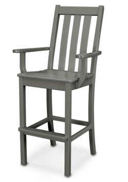 Polywood Vineyard Bar Arm Chair POL-VND232