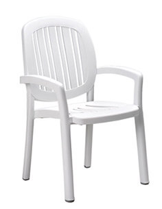 Nardi Ponza Stacking Dining Chair NAR-40268