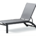 Telescope Casual Kendall Sling Stacking Armless Lay Flat Chaise - TEL-9100