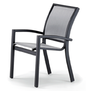 Telescope casual stacking chair by Brigadoon Fitness