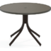 Telescope Casual 42 Round Dining Table with Hammered MGP top - TEL-T90-2W5LEG