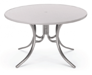 "Telescope Casual 48"" Round Dining Table - TEL-T97-277LEG"