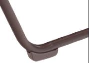 Windward Ocean Breeze Sling Chaise Lounge - WIN-W0310SLNSBT foot