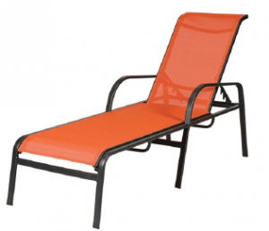 Windward Design Group Ocean Breeze Sling Chaise Lounge w/arms