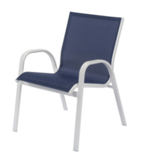 Windward Design Group Seabreeze Sling Dining Chair WIN-W5150BT
