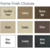 Winward Design Group Frame Finishes