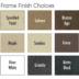 Winward Design Group Frame Finishes
