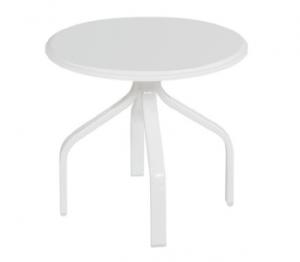 "Windward Design 19"" Polymer Top Round Side Table by Orange Italia"