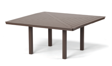 Square dining height table by Orange Italia