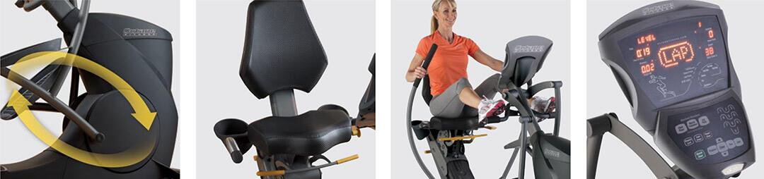 Octane Fitness xRide XR650 Recumbent Elliptical