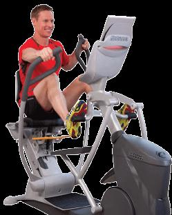 Octane Fitness Recumbent Elliptical - xRide - xR6