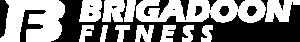 White logo for Brigadoon Fitness