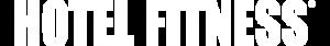 White logo for Hotel Fitness