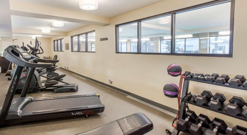 Image of exercise room at The Best Western Plus