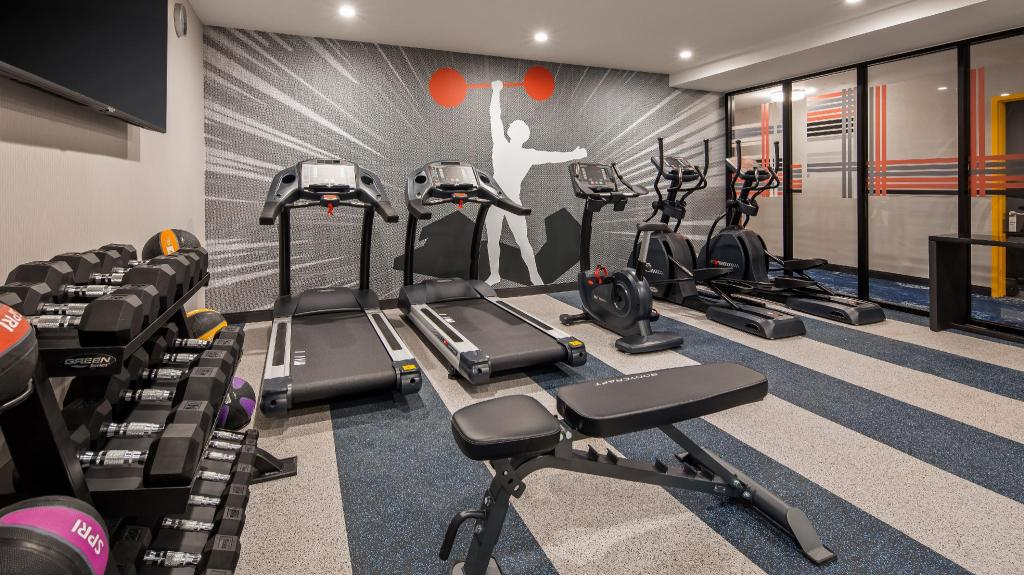 Image of exercise room at Best Western, Brooklyn, NY