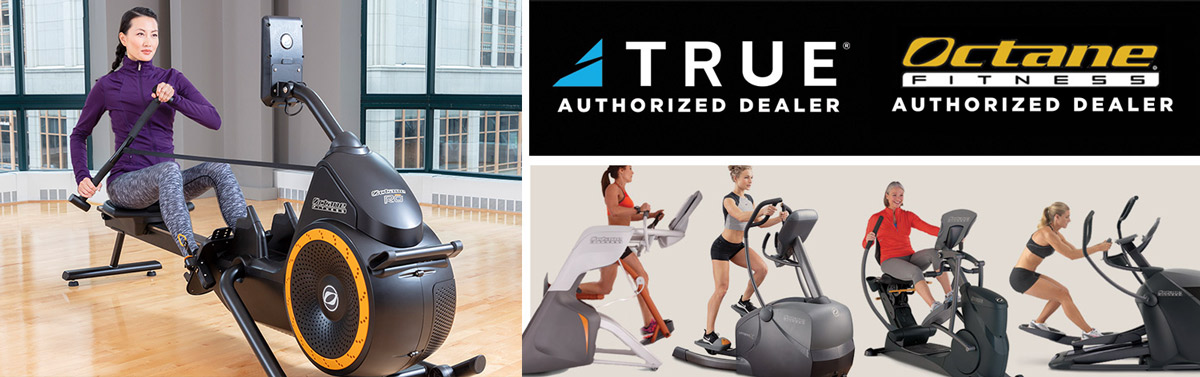 Brigadoon Fitness is an authorized dealer for True Fitness and Octane Fitness